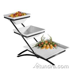 Cal-Mil - PP203 - 3-Level Stand w/Diamond Porcelain Bowls image