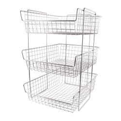 Commercial - 3-Tier Basket Merchandiser image