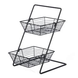 Willow Specialties - 823154 - 2-Tier Black Display Stand image
