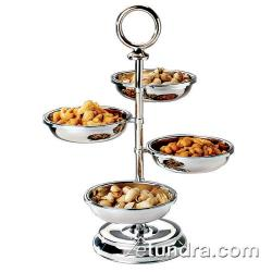 World Cuisine - 42977-04 - 4-Compartment Stainless Tower Display image
