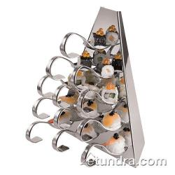 "World Cuisine - 42988-00 - 6 5/8"" Stainless Buffet Display image"