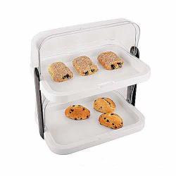 World Cuisine - 47091-02 - 2-Tier Cold Food Display Set image