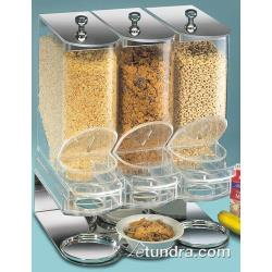 Cal-Mil - 718 - 600 cu in Triple Cereal Dispenser image