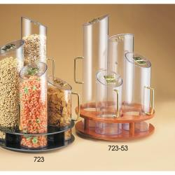 Cal-Mil - 723-53 - 900 cu in Quad Cereal Dispenser  image