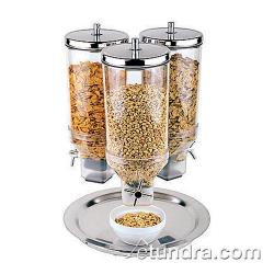 World Cuisine - 41909-13 - 3 Cereal Dispensers w/Stainless Base image