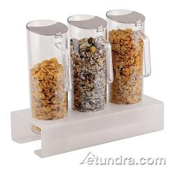 World Cuisine - 41918-04 - 3 Cereal Jugs w/Tall Holder image