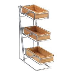 Cal-Mil - 1235-39-60 - 3-Tier Flatware Holder image