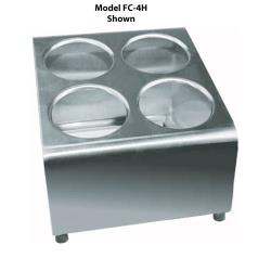 Winco - FC-6H - 6-Hole Flatware Holder image