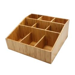 Cal-Mil - 1714 - 9 Section Bamboo Coffee Organizer image