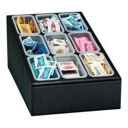 Dispense-Rite - CTCD-9BT - Nine Section Countertop Condiment Organizer image