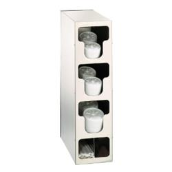 Dispense-Rite - TLO-3SS - Countertop Vertical Lid And Straw Organizer image