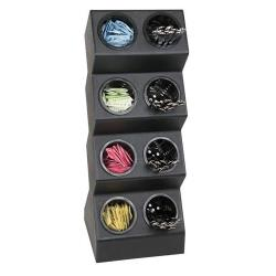 Dispense-Rite - VSCH-8BT - Eight Compartment Countertop Flatware Organizer image