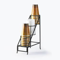 Cal-Mil - 1452 - 3-Tier Cup and Lid Dispenser image