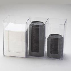 Cal-Mil - 375-12 - 3 Section Napkin and Lid Dispenser image