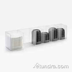 Cal-Mil - 377-12 - 6 Section Napkin and Lid Dispenser image