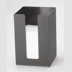 Cal-Mil - 635-13 - 5 in x 5 in Black Napkin Dispenser image