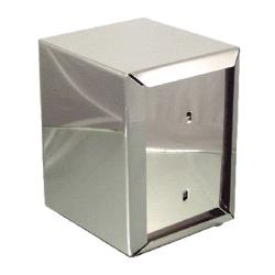 ITI - ITW-I-AH - 5 3/8 in Half Stainless Steel Napkin Dispenser image