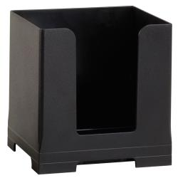 Rattleware - 82040-01 - 5 in Black Napkin/Sleeve Dispenser image
