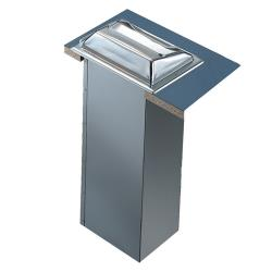 San Jamar - H2001XC - In-Counter Fullfold Chrome Napkin Dispenser image