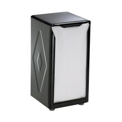 San Jamar - H900BK - Tabletop Tallfold Black Napkin Dispenser image