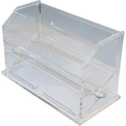 Winco - ACSD-712 - Clear Straw Dispenser image
