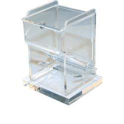 Winco - ACTD-3 - Clear Toothpick Dispenser image