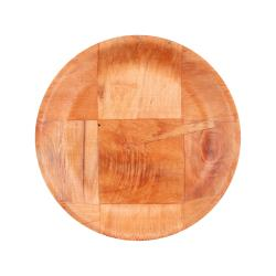 Update - WRP-6 - 6 In Woven Wood Salad Plate image