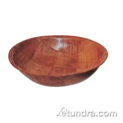 Winco - WWB-12 - 12 in Woven Wood Salad Bowl image