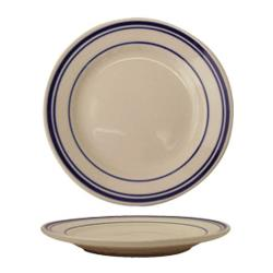 International Tableware - CT-20 - Catania™ 11 in Plate with Blue Band image