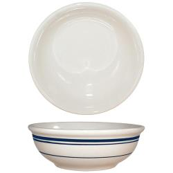 ITI - CT-24 - 10 Oz Catania™ Nappie Bowl With Blue Band image