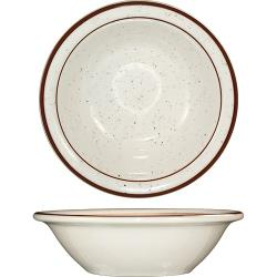 ITI - GR-11 - 4 Oz Granada™ Brown Speckled Fruit Bowl image