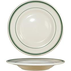 ITI - VE-115 - 20 Oz Verona™ Pasta Bowl With Green Band image