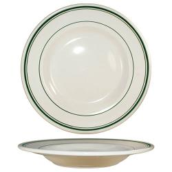 ITI - VE-125 - 28 Oz Verona™ Pasta Bowl With Green Band image