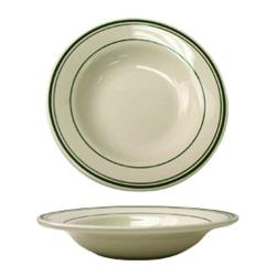 ITI - VE-3 - 12 Oz Verona™ Deep Rim Soup Bowl With Green Band image