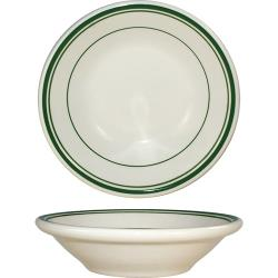 ITI - VE-32 - 3 Oz Verona™ Fruit Bowl With Green Band image