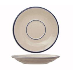 ITI - DA-2 - 6 in Danube™ Blue Speckled Saucer image