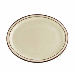 "World Tableware - DSD-13 - Desert Sand Ultima 11 1/2"" x 9 1/8"" Platter image"