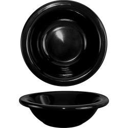 ITI - CA-10-B - 10 Oz Cancun™ Black Grapefruit Bowl With Rolled Edge image