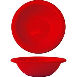 ITI - CA-10-CR - 10 Oz Cancun™ Crimson Red Grapefruit Bowl With Rolled Edge image
