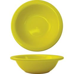 ITI - CA-10-Y - 10 Oz Cancun™ Yellow Grapefruit Bowl With Rolled Edge image
