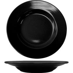 ITI - CA-120-B - 20 Oz Cancun™ Black Pasta Bowl With Rolled Edge image