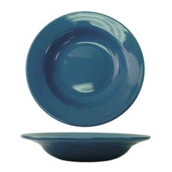 ITI - CA-120-LB - 20 Oz Cancun™ Light Blue Pasta Bowl With Rolled Edge image