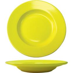ITI - CA-120-Y - 20 Oz Cancun™ Yellow Pasta Bowl With Rolled Edge image