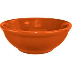 ITI - CA-15-O - 12 1/2 Oz Cancun™ Orange Nappie Bowl With Rolled Edge image