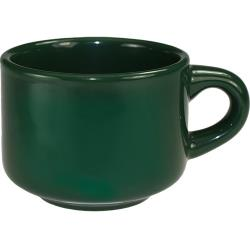 ITI - CA-23-G - 7 1/2 oz Cancun™ Green Stackable Teacup image
