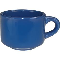 ITI - CA-23-LB - 7 1/2 oz Cancun™ Light Blue Stackable Teacup image