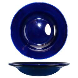 ITI - CA-3-CB - 12 Oz Cancun™ Cobalt Blue Deep Rim Soup Bowl With Rolled Edge image