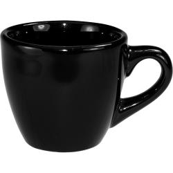 ITI - CA-35-B - 3 1/2 oz Cancun™ Black A.D Teacup image