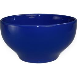 ITI - CA-43-CB - 15 Oz Cancun™ Cobalt Blue Footed Bowl With Rolled Edge image