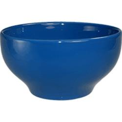 ITI - CA-43-LB - 15 Oz Cancun™ Light Blue Footed Bowl With Rolled Edge image